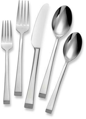 Bed Bath Beyond Silverware : beyond, silverware, Mikasa®, Rockford, 45-Piece, Flatware, Beyond, Silver, Dinnerware,