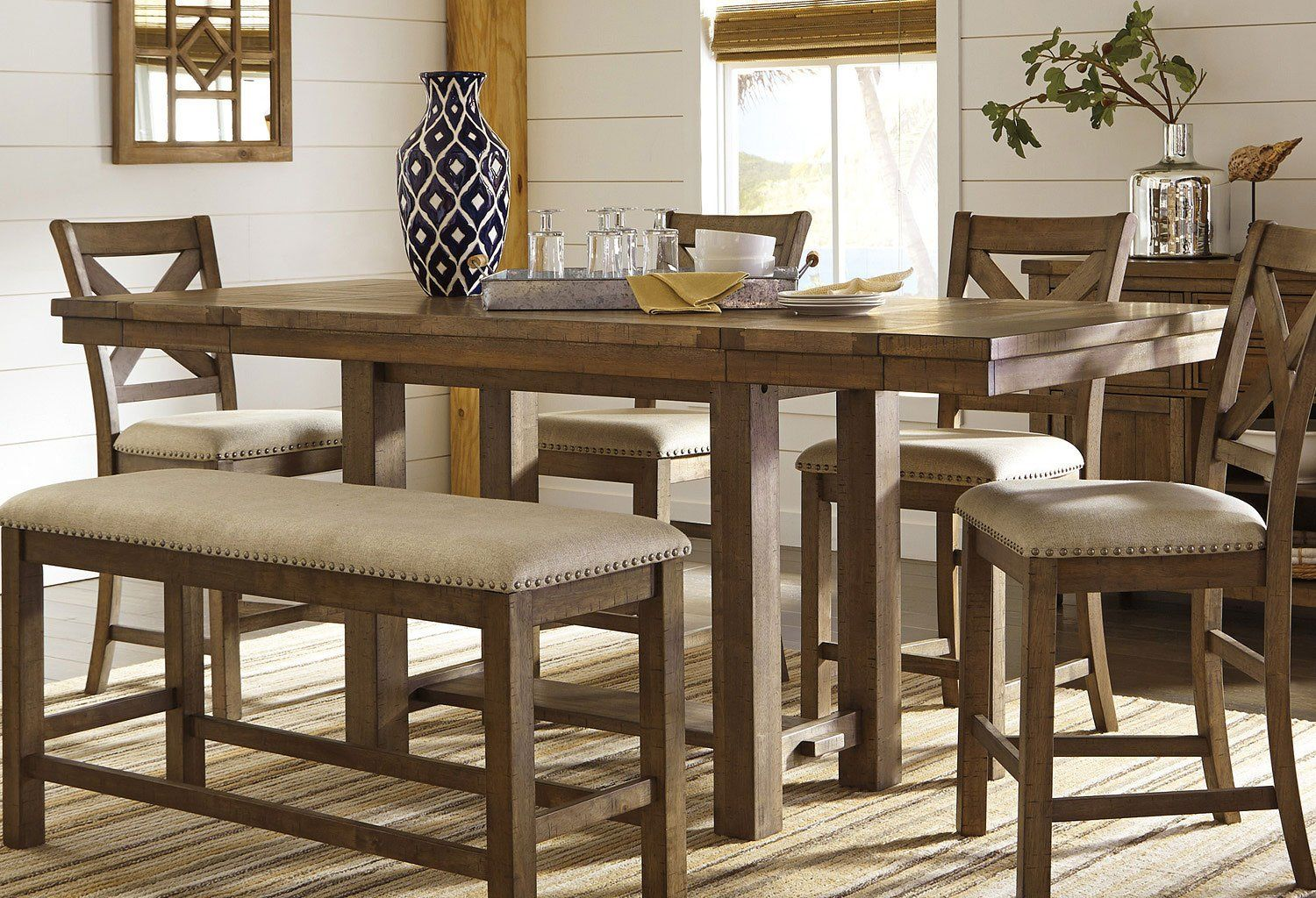 Moriville Counter Height Dining Table Counter Height Dining