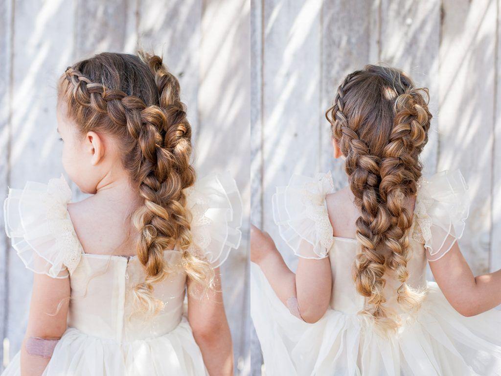 Dutch Pigtail Braided Bridal | CGH Lifestyle | Hair designs ...