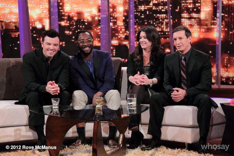"Rove McManus's image - ""Final #RoveLA for season 1 on @TVGuideNetwork TONIGHT with @SethMacFarlane, @iamwill and Lauren Graham. "" on WhoSay"