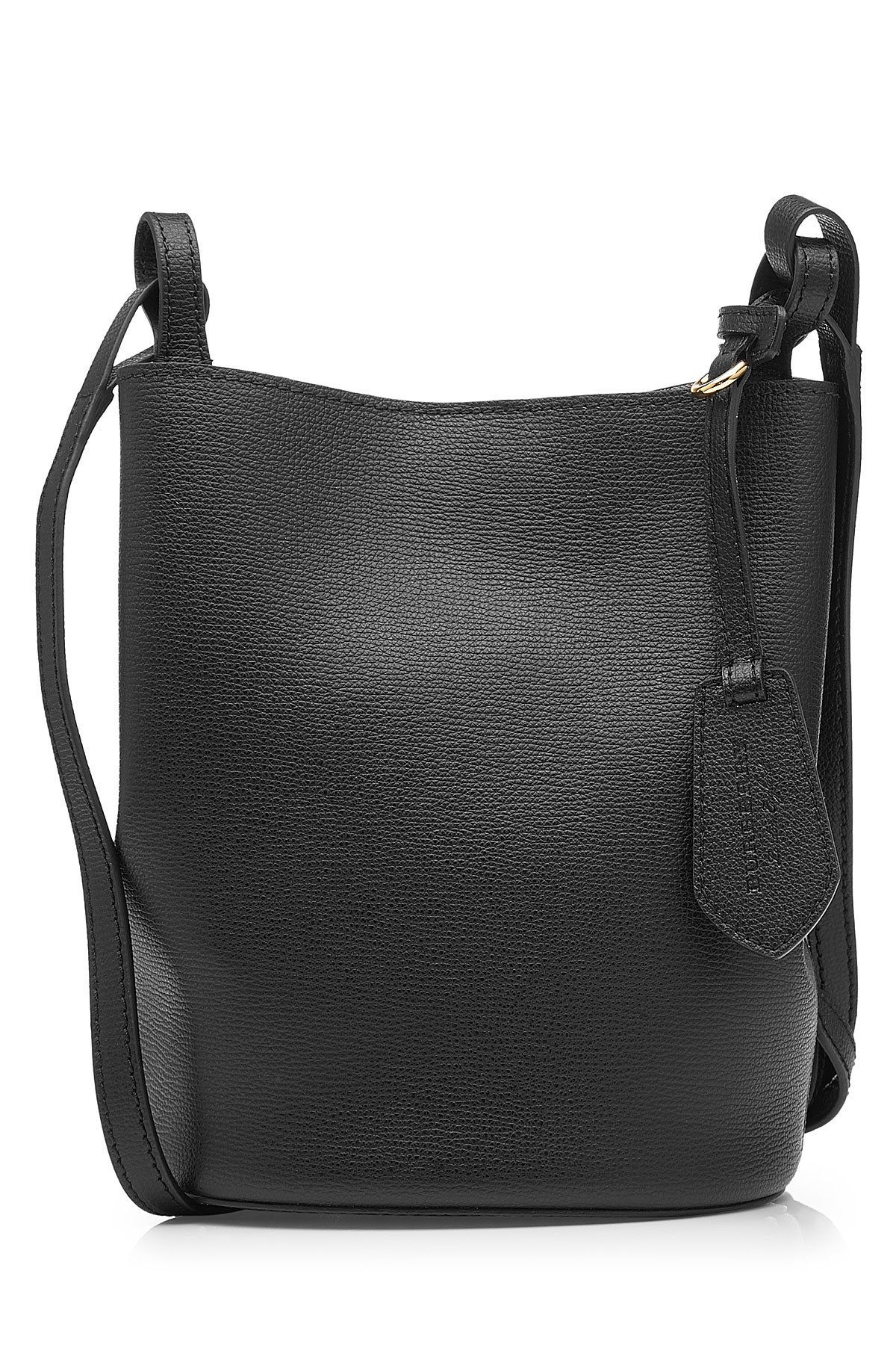 549483b7bc9f Burberry London England Leather Bucket Bag