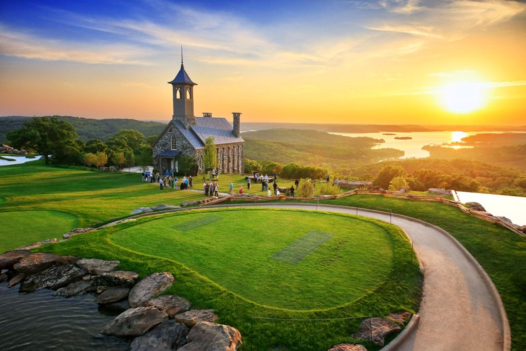 Top of the Rock Big Cedar Weddings. Chapel of the Ozarks