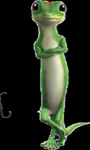 Til Why Geico Lizard Speak In A English Accent Geico Lizard Cartoon Lizard Gecko