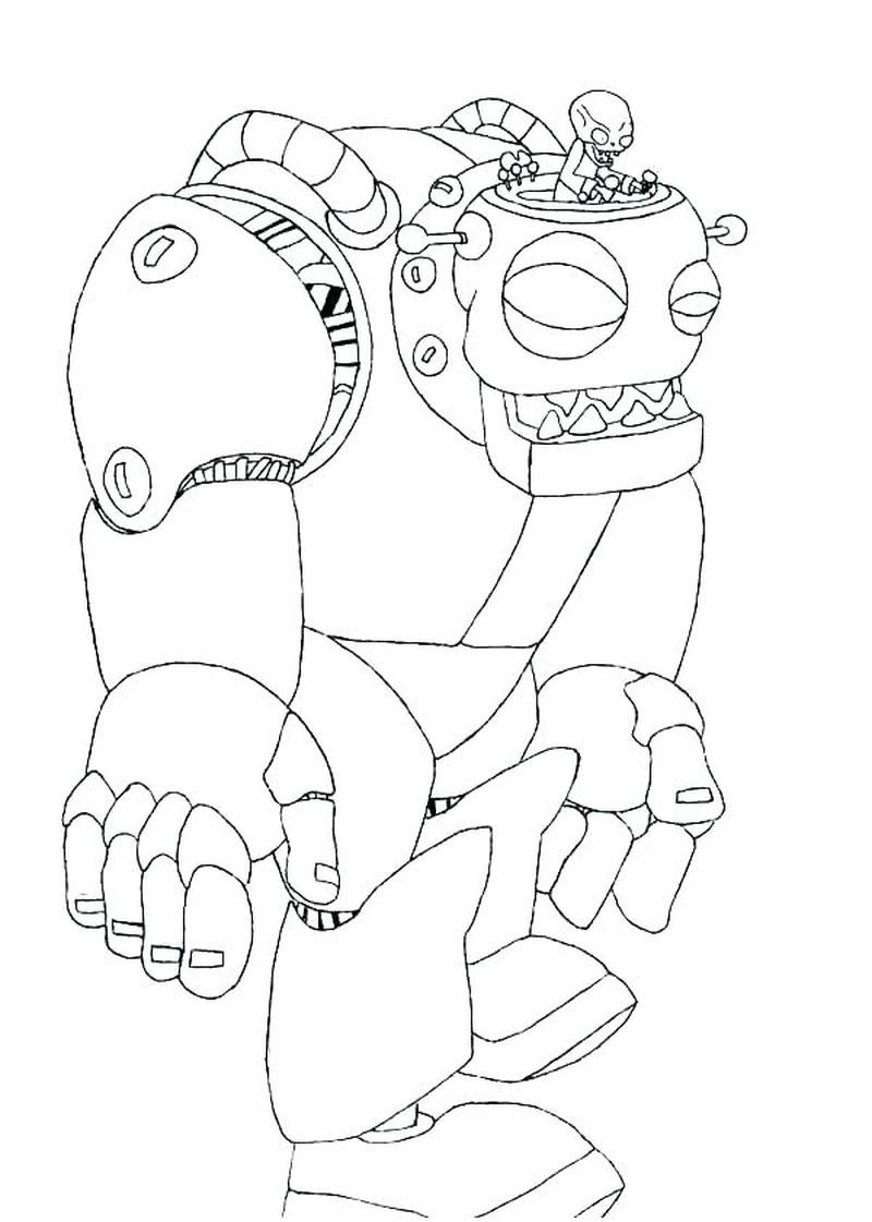 Image Zombot Jpg Plants Vs Zombies Character Creator Wiki Plants Vs Zombies Birthday Party Halloween Coloring Pages Animal Coloring Pages