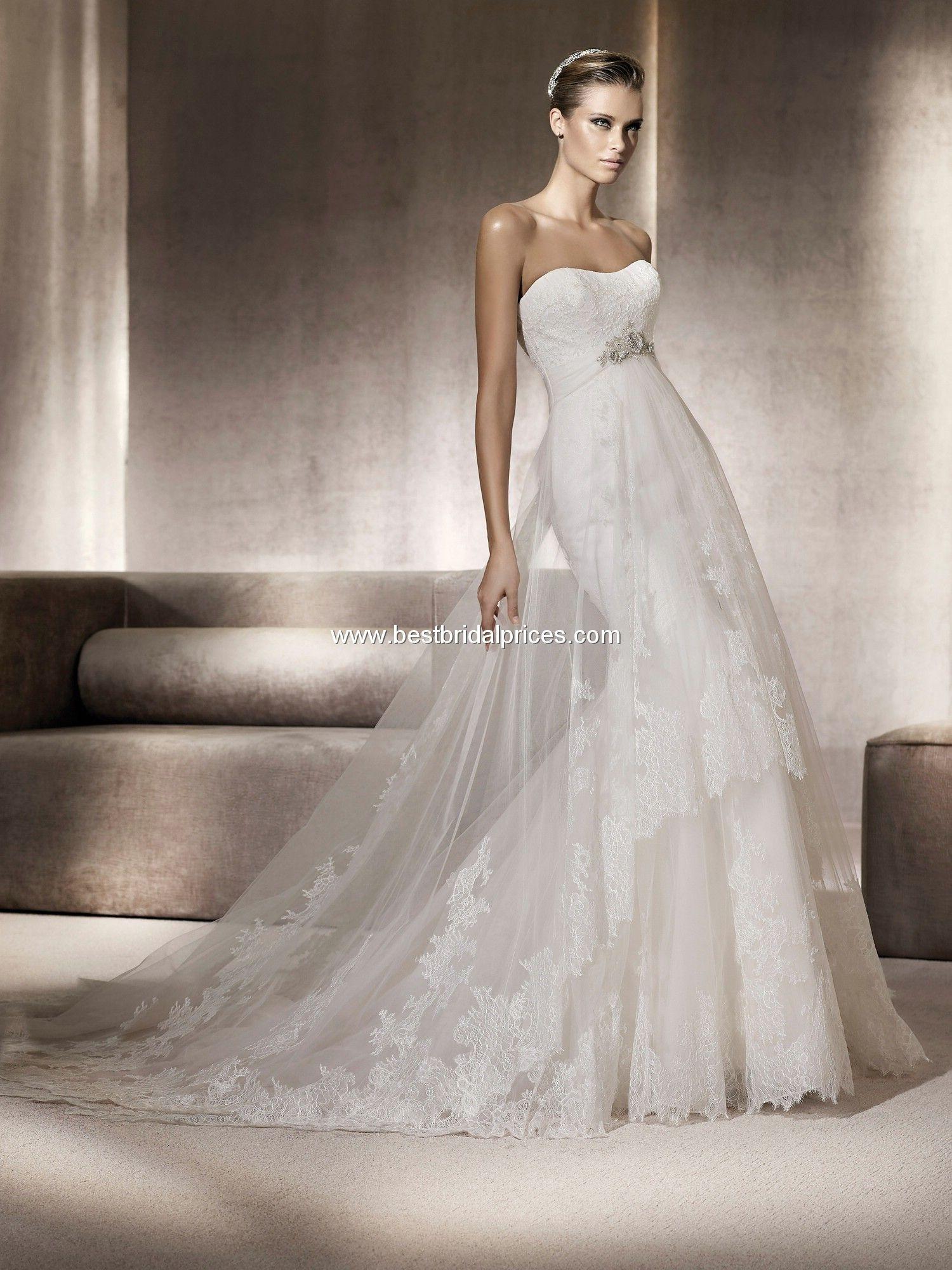 Pronovias Wedding Dresses - Style Pompeya Just saw this on I found ...