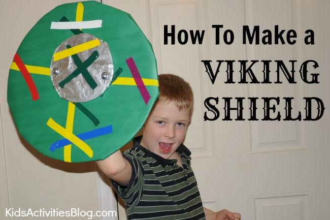 How To Make A Shield Viking Shield Vikings For Kids Activities For Kids Viking Shield
