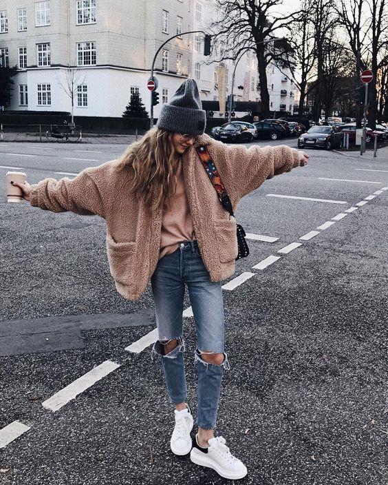 15 Tolle Hipster Mädchen Outfits für den Winter - Frauen Mode