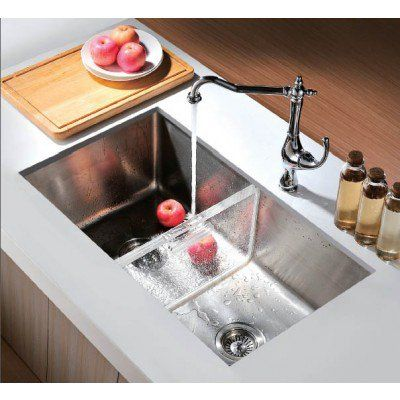 32 Undermount Kitchen Sink Dual Function With Removable