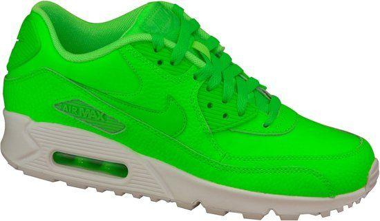 newest 11512 3bda3 Nike Air Max 90 Ltr Gs 724821-300, Vrouwen, Groen, Sneakers maat