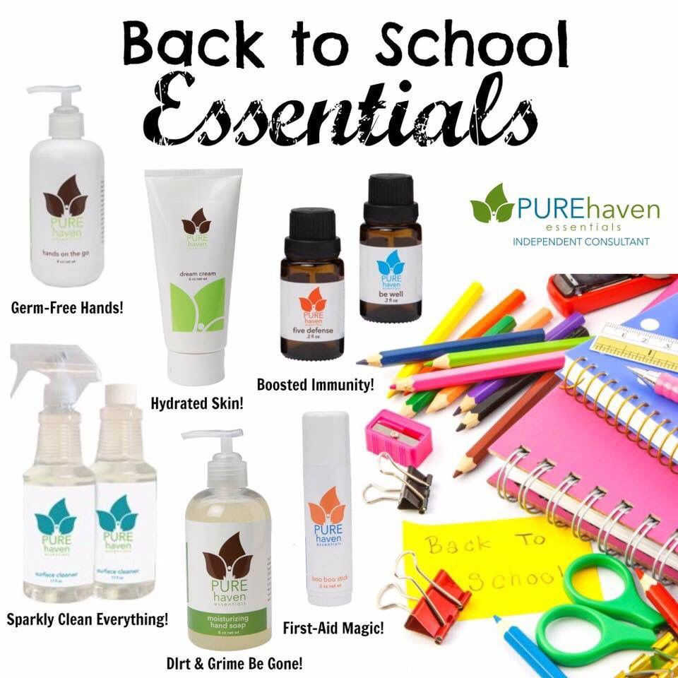 Yes Back To School Ideas For Pure Haven Essentials Non Toxic And