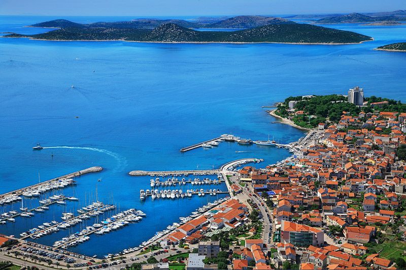 Vodice, Croatia. My 2nd favorite place in Croatia