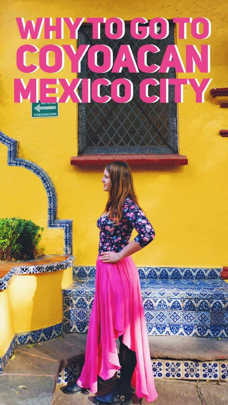 Best place to go in Mexico City. Things to do in Coyoacan, Mexico City  #mexicocity #mexico #mexicotravel #visitmexico #cdmx #df