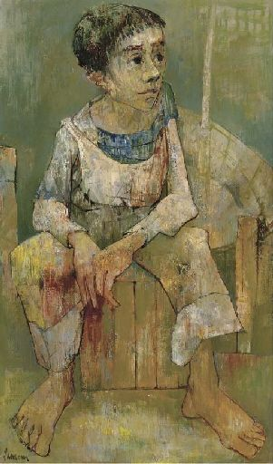 "Jean Jansem - Hovhannes ""Jean"" Semerdjian (1920-2013), also known as Jean Jansem, was an French-Armenian painter."
