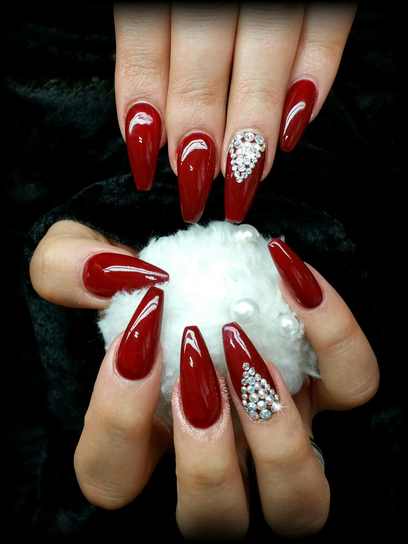 Perfect UV Gel nails with HIGH Definition Colour Gel. | Nails ...