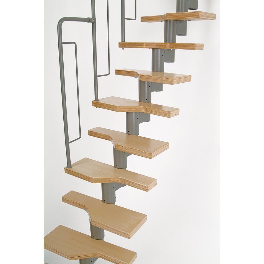Best Dolle Graz Modular Staircase Kit Modular Staircase 640 x 480