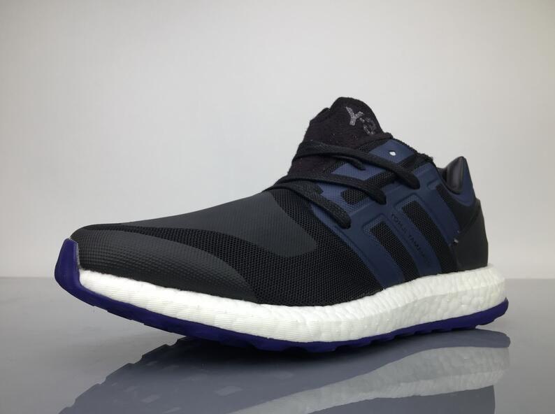187ed8afa Adidas Pure Boost Y-3 Yohji Yamamoto Black Blue BY8956 Sneaker for Sale2