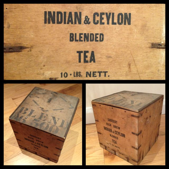 Tea Chest Coffee Table Part - 48: When We Moved House We Put Everything In Tea Chests! I Was 5.