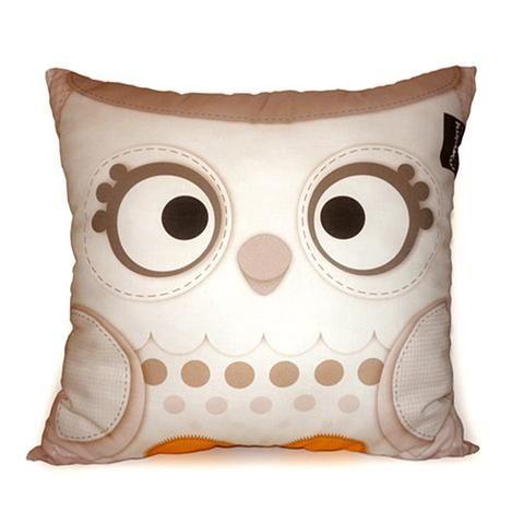 Snow Owl Pillow