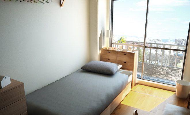 狭い16 リノベーションワンルームを無印収納家具で機能的に 一人暮らしのワンルームインテリア 一人暮らし部屋レイアウト8畳 ワンルーム インテリア リノベーション ワンルーム
