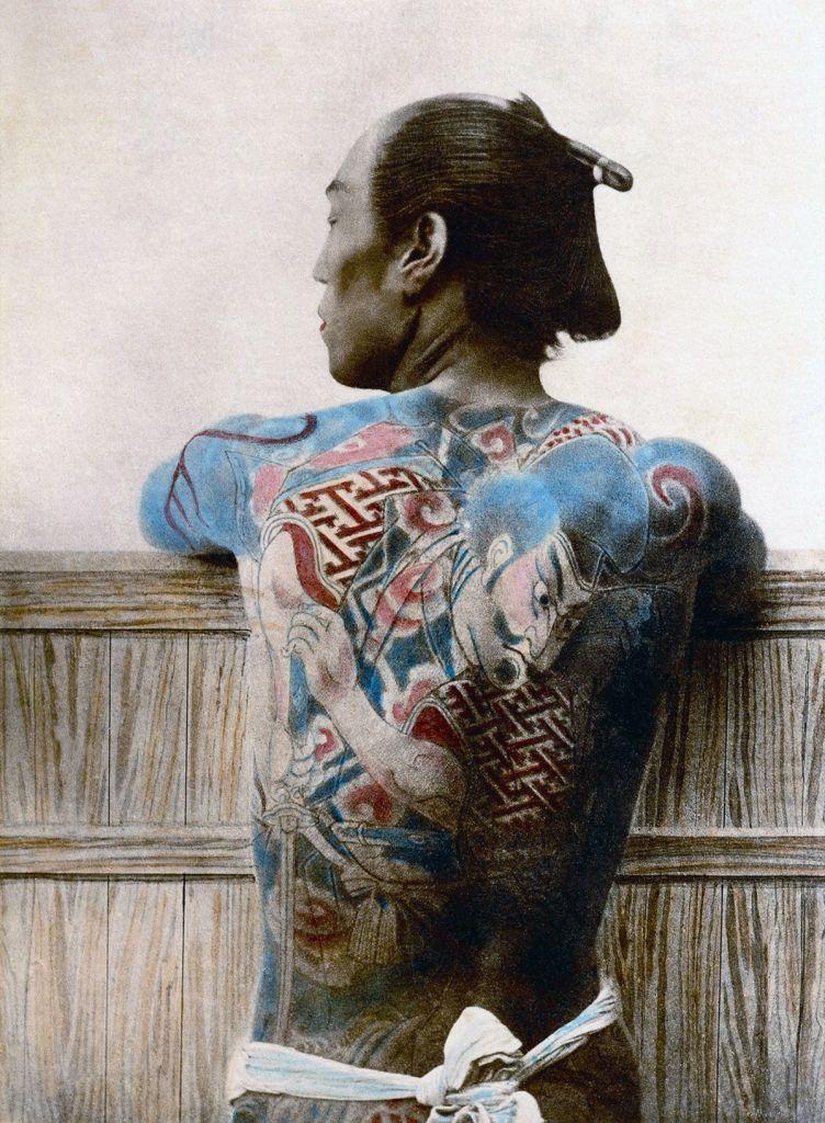 Japanese Samurai warrior with tattoos. | Guerreros. Imágenes de ...