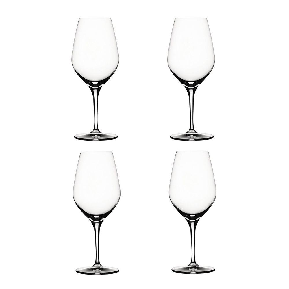 Authentis Red Wine Glass Set Of 4 48 Cl Spiegelau Wine Glass
