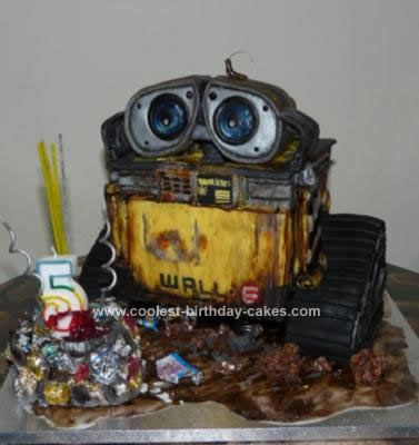 Homemade Wall E 3D Birthday Cake Design First Id Like To Say Thanks All The People Who Gave Their Ideas On This Site I Made
