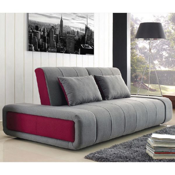 Sofa Bed With Memory Foam 950 Cad Liked On Polyvore Featuring Home Furniture Sofas Couch Sleeper