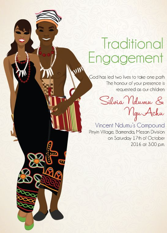 Print unlimited quantities of invitations for you Bamenda