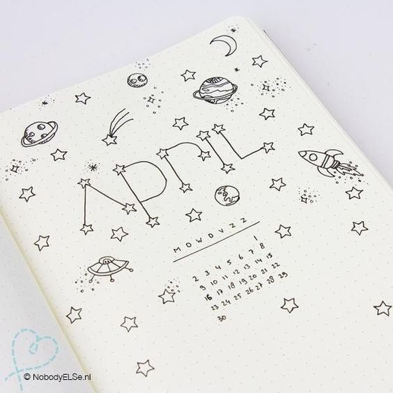 24 Insanely Simple Bullet Journal Header Ideas To Steal! #bulletjournaling