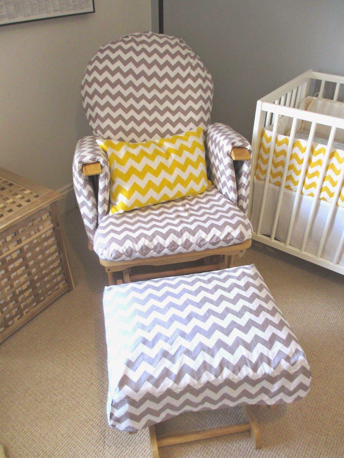 Nursing chair/ Glider chair update Nursing chair