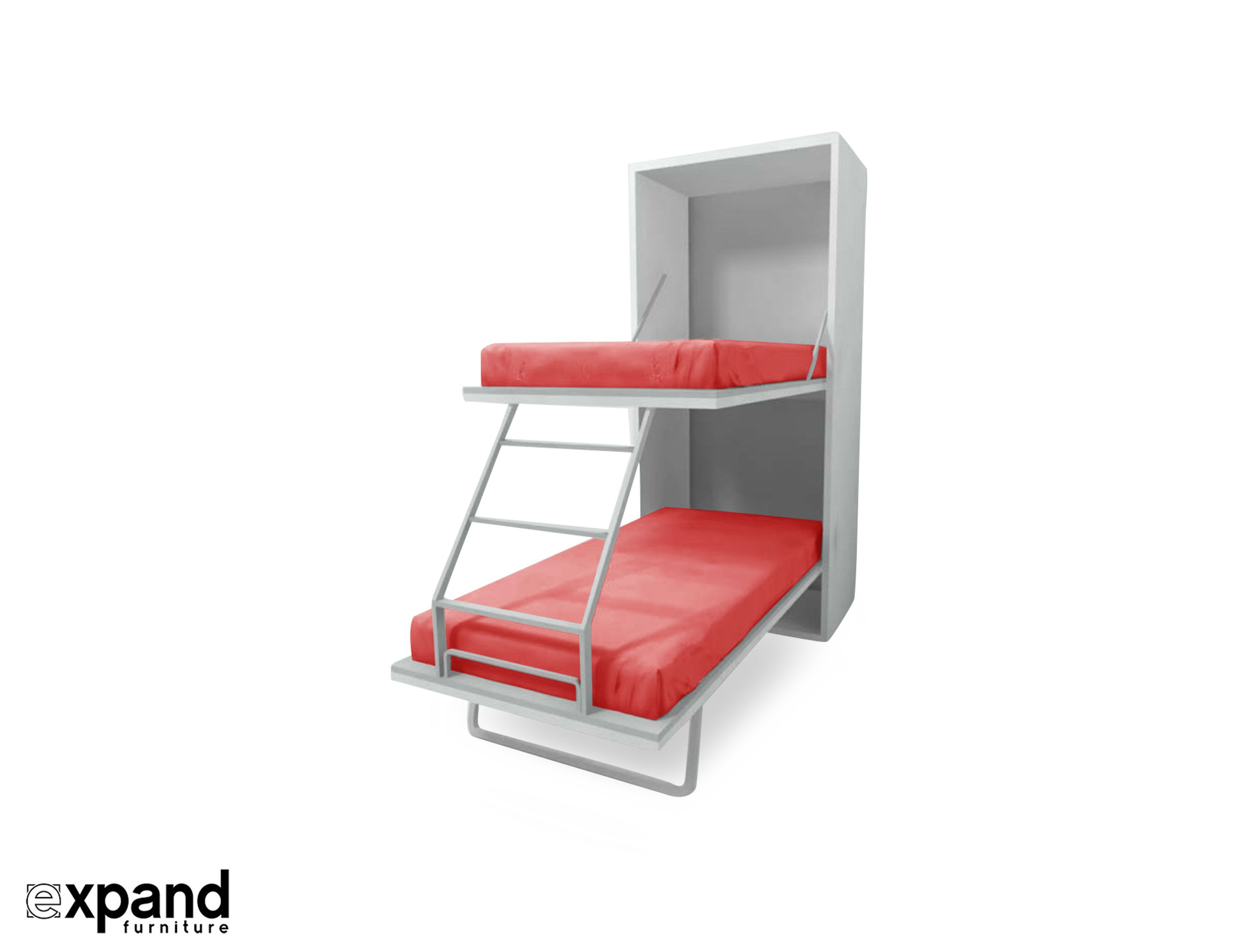 Compatto Hidden Vertical Murphy Bunk Beds Expand