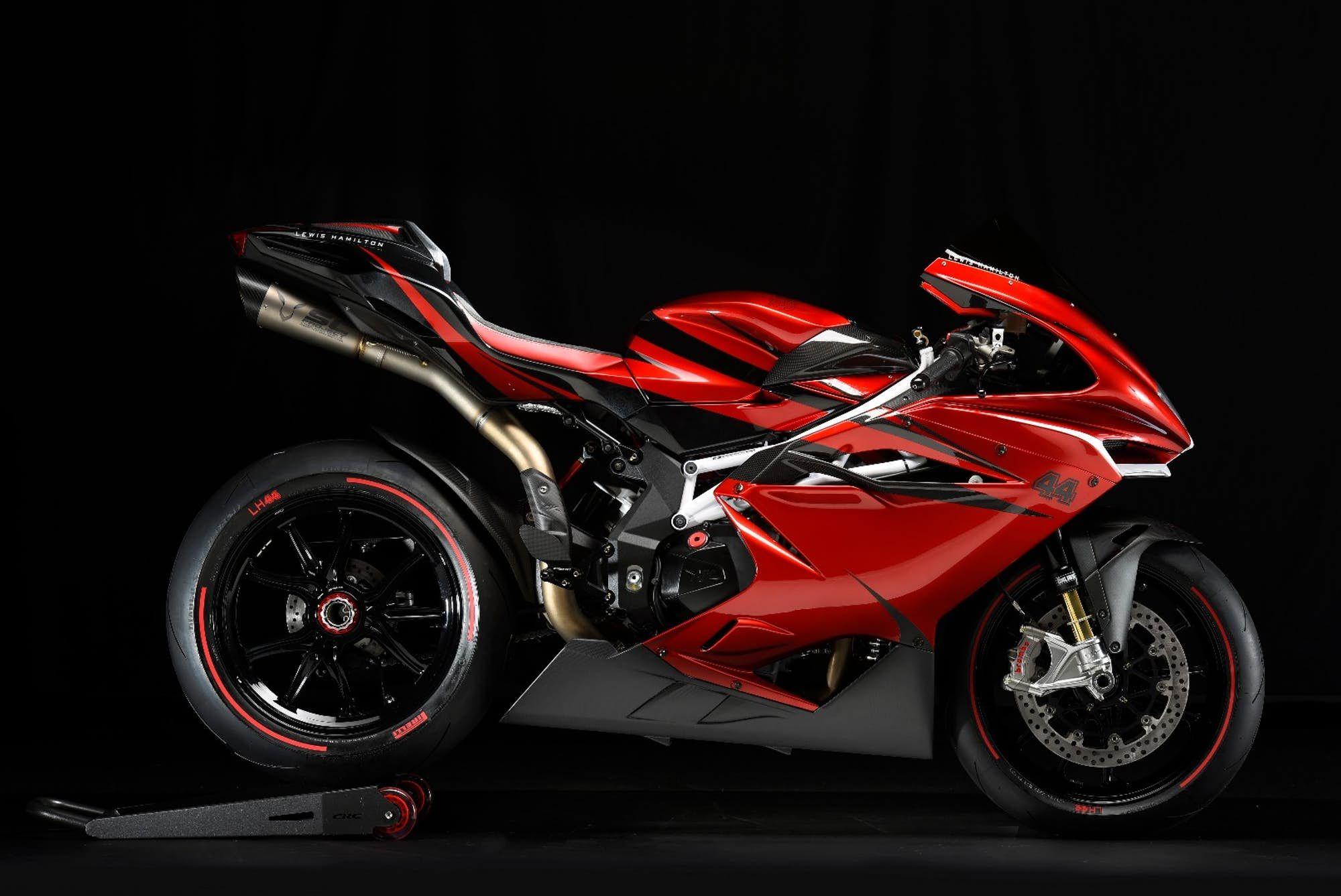 Lewis Hamilton And Mv Agusta Create Eclectic F4 Superbike Mv