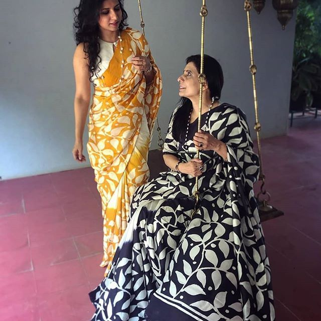 2484c21869 This Silk Saree Trend That Every One Will Wear This Year | Satin ...