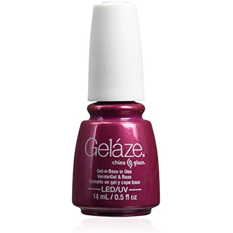 China Glaze Gelaze Nail Polish, Better Not Pout, 0.5 Fluid Ounce ...