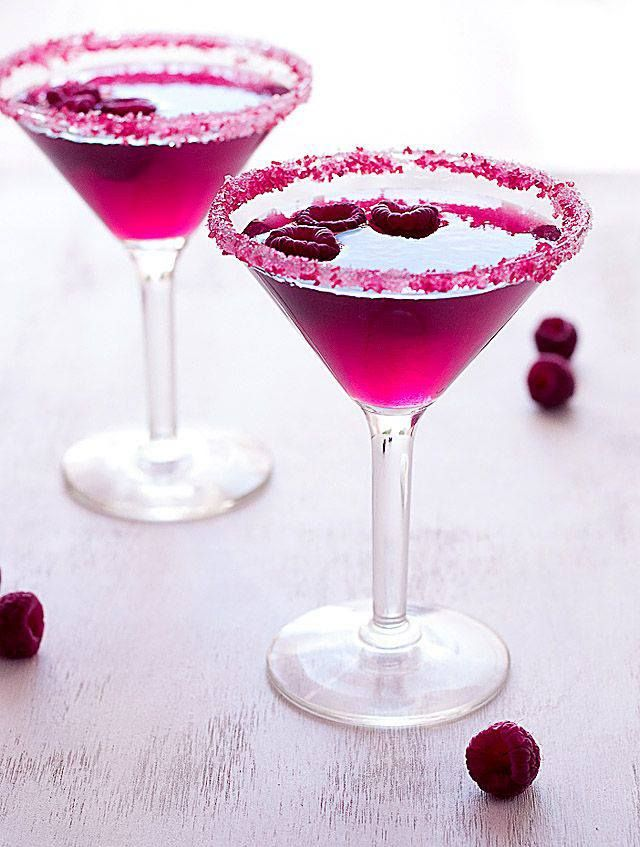 Very Pink Raspberry Cosmopolitan #RioRush #JetSetBeauty