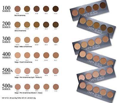 CINEMA SECRETS Ultimate Foundation 5-in-1 Pro Palette™ - 100 Series ... 22dac947e223c