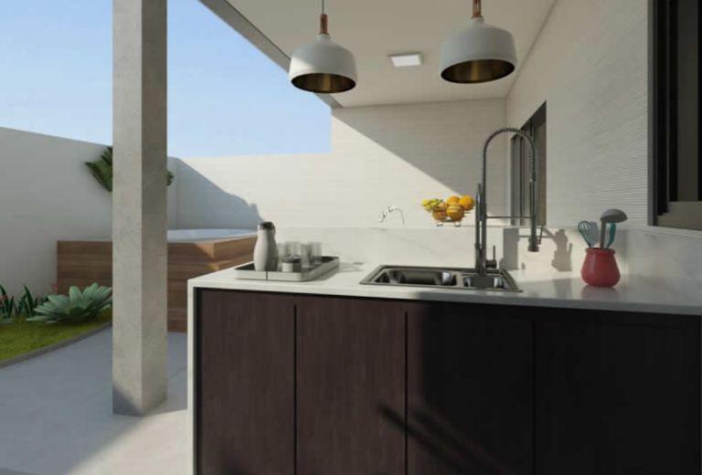 3 Bedrooms Home Design 10x20 Meters Home Ideas Modern House Facades House Design Modern House Plans