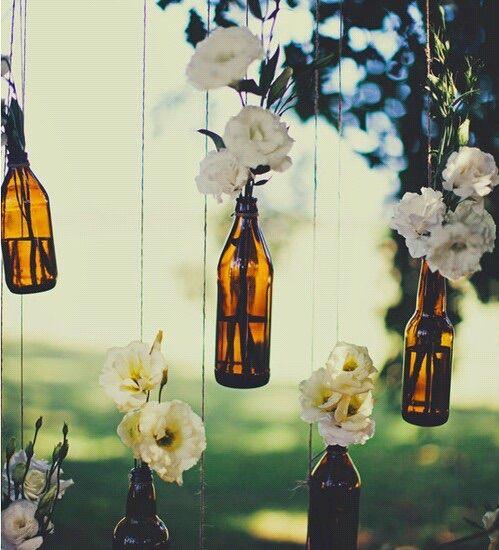 Imagem via We Heart It https://weheartit.com/entry/161071197 #cool #deco #decoracion #decoration #diy #flores #flowers #botella