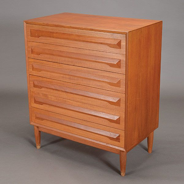 Danish Modern Six Drawer Dresser #midcentury #modern #dresser #furniture #michaans