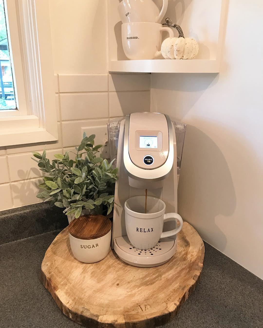 Apartment Kitchen Decorating Ideas: Coffee Bar Ideas Kitchen Counter, Coffee Bar Ideas For