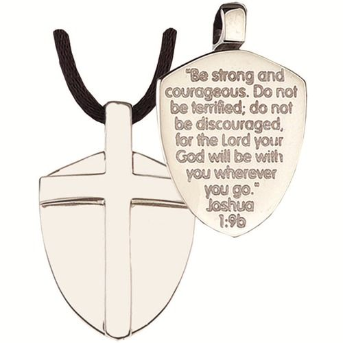 Shield of faith pendant pendants scriptures and strength shield of faith pendant aloadofball Images
