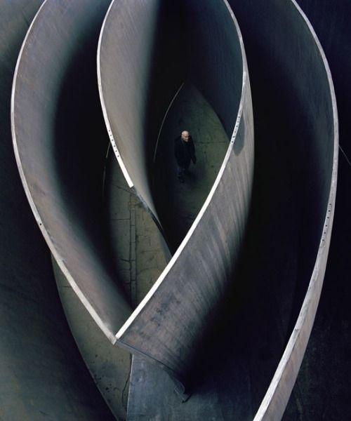 unquietwater: Richard Serra by Oliver Mark.