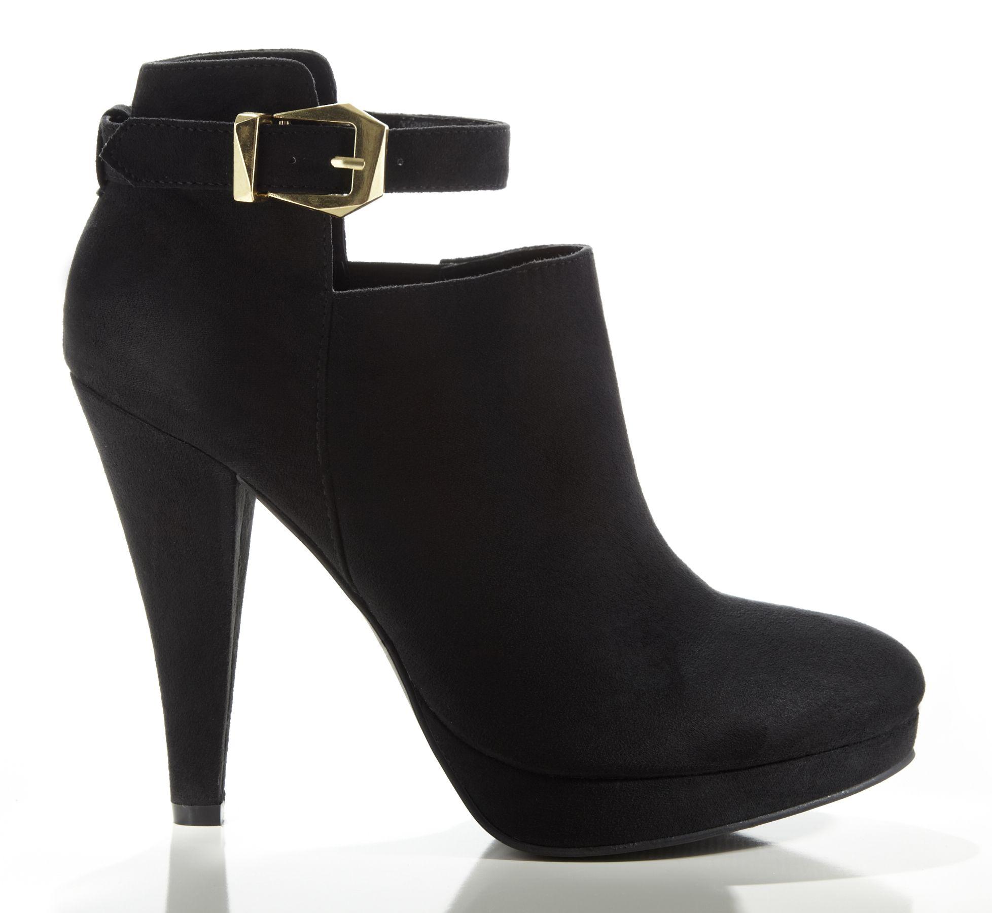 dsw high heel booties