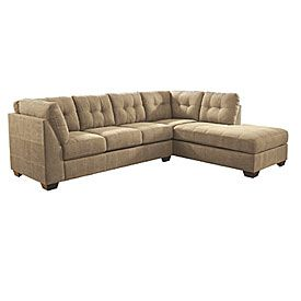 View Signature Design By Ashley Driskell Mocha 2 Piece Sectional Deals At Big Lots Living Room Sectional Mocha Living Room Affordable Living Room Furniture