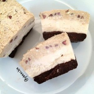 Cookie Dough Cheesecake Brownie Bars (The Coconut Diaries) PROTEIN Cookie Dough Cheesecake Brownie Bars #proteincookiedough