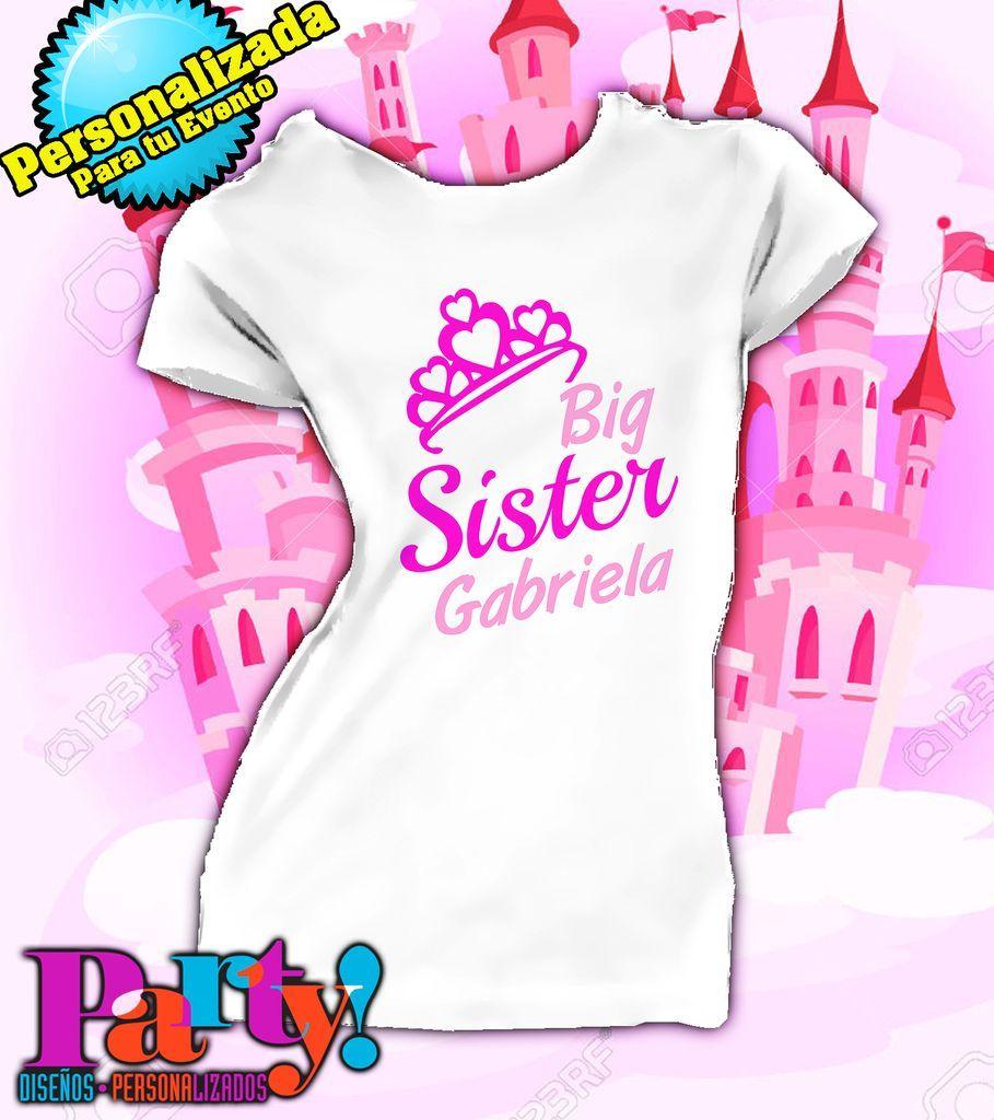 Playera Personalizada Little Sister  cd7a8677b199c