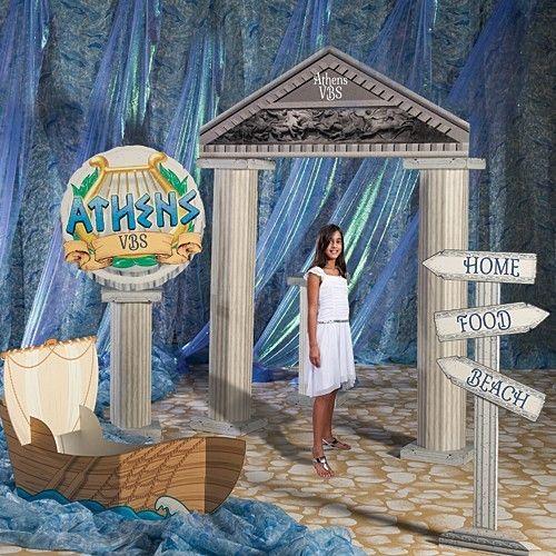 Greek Mythology Party Theme Google Search: Greek Party Decorations