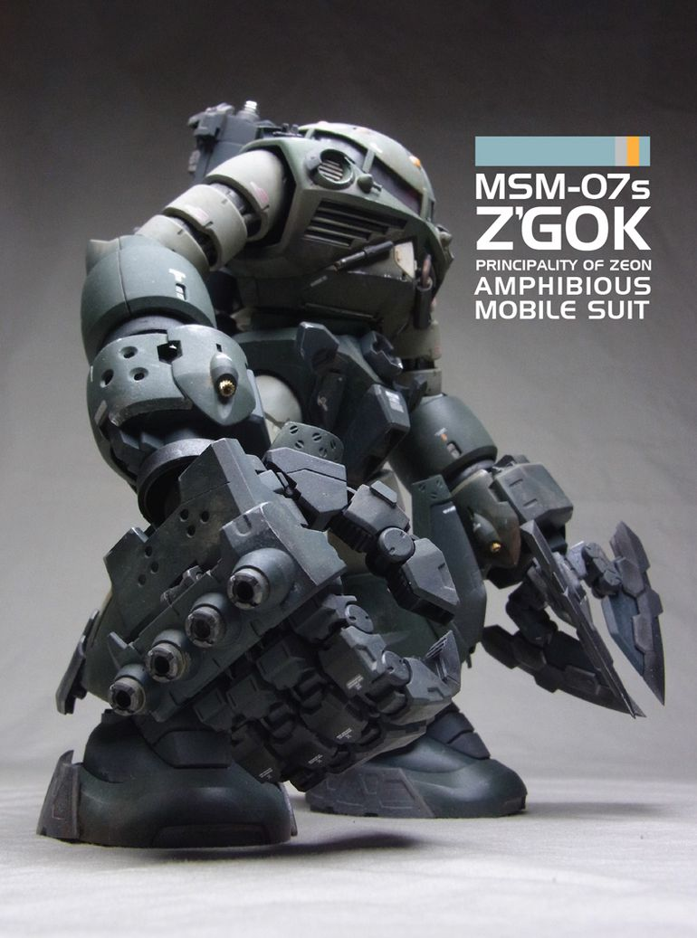 Herbert's MG Z'GOK Custom: REVIEW | GUNJAP