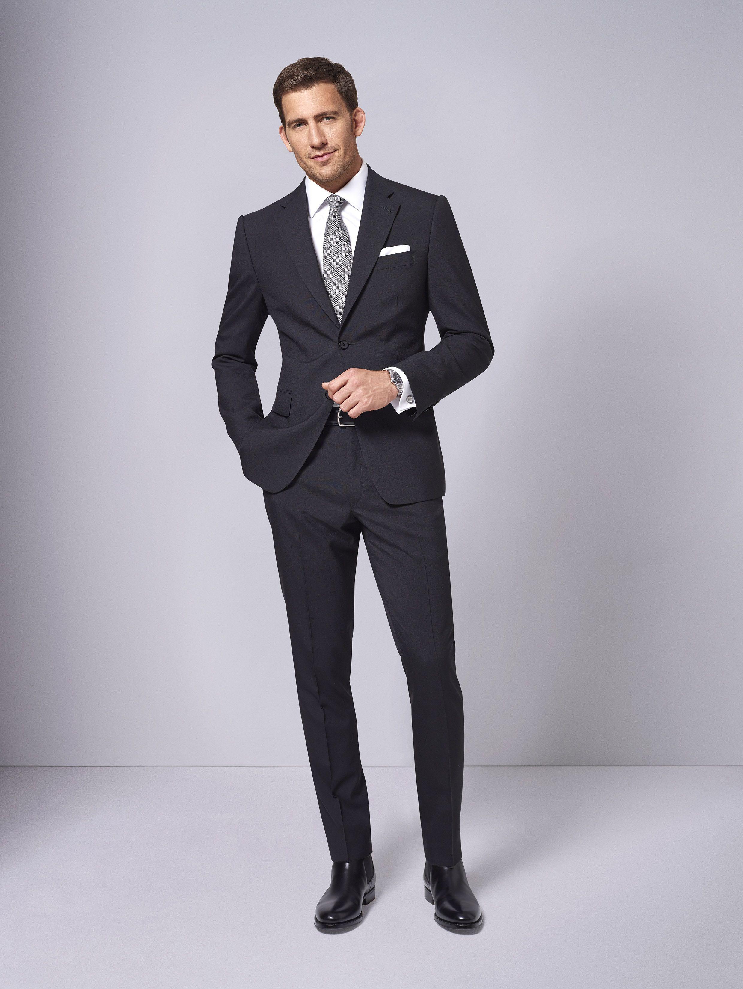 Men in Black. Ein Anzug nach Maß muss nicht unerschwinglich sein ...