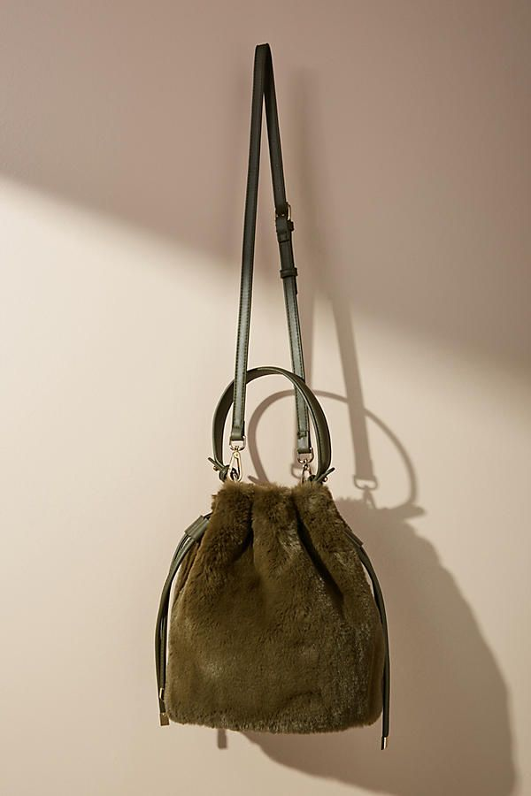 Faux Fur Crossbody Bucket Bag  ad  AnthroFave  AnthroRegistry Anthropologie d852510e7c80b